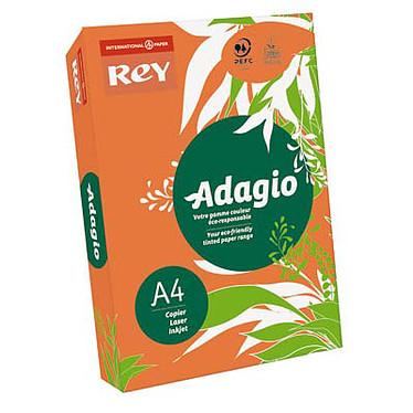 Adagio Ramette de papier 500 feuilles A4 80g coloris Orange Intense