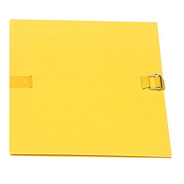Exacompta Chemise extensible 24 x 32 cm à sangle Jaune