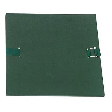 Chemise extensible 24 x 32 cm à sangle Vert foncé