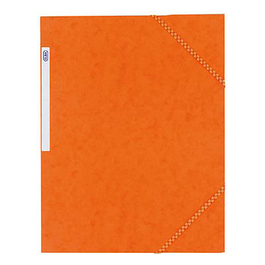 Elba Chemise à élastiques 24 x 32 cm  3 rabats 390 g Orange