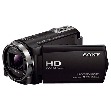 Sony HDR-CX410VE Noir Caméscope Full HD Mémoire flash