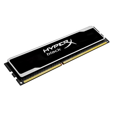 Kingston HyperX black 8 Go DDR3 1600 MHz CL10 RAM DDR3 PC12800 - KHX16C10B1B/8 (garantie à vie par Kingston)