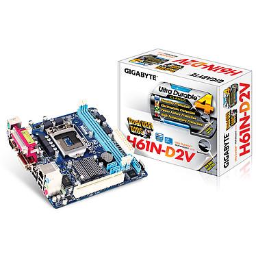 Gigabyte GA-H61N-D2V Carte mère Mini ITX Socket 1155 Intel H61 Express - SATA 3 Gbps