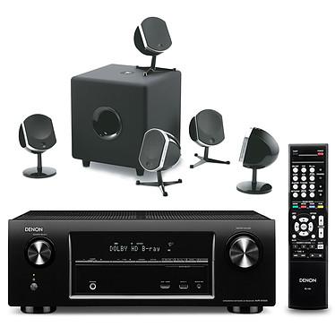 Denon AVR-X1000 Noir + Focal Little Bird 5.1 Noir