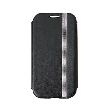 Swarovski Etui Folio Noir pour Galaxy S4