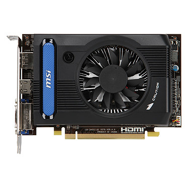 Avis MSI Radeon HD 7730 R7730-1GD5 1 Go