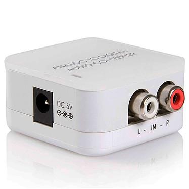 Convertisseur audio RCA vers SPDIF/Toslink
