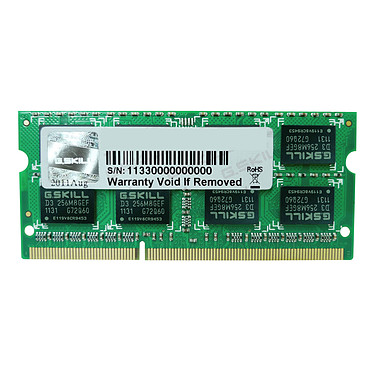 G.Skill SO-DIMM 4 Go DDR3 1600 MHz CL9