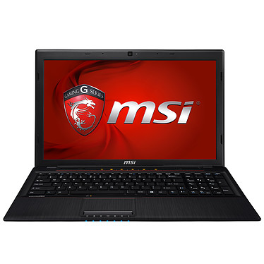 "MSI GP60 2OD-053XFR Intel Core i5-4200M 4 Go SSHD 1 To 15.6"" LED NVIDIA GeForce GT 740M Graveur DVD Wi-Fi N/Bluetooth Webcam FreeDOS (garantie constructeur 2 ans)"