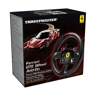 Avis Thrustmaster GTE F458 Wheel Add-on