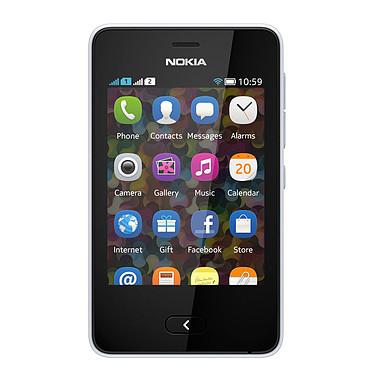 Nokia Asha 501 Double SIM Blanc