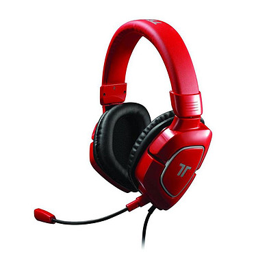 Tritton AX 180 (rouge) Casque-micro pour gamer (compatible PC / Mac / PS4 / PS3 / Xbox 360)
