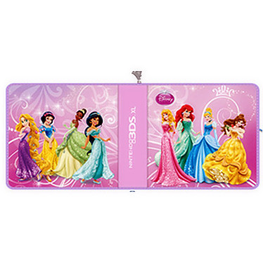 PDP Pull and Go Universal - Disney Princess (Nintendo 3DS, 3DS XL) Sacoche de transport pour Nintendo 3DS et 3DS XL