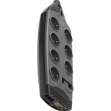 Belkin SurgeMaster série Or - Bloc parafoudre (7 prises secteur + 2 prises téléphone + 1 prise réseau + 1 prise antenne)