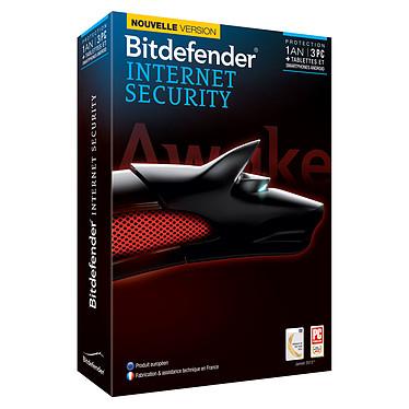 Bitdefender Internet Security 2014 - Licence 1 an 3 postes Suite de sécurité Internet - Licence 1 an 3 postes (français, WINDOWS)