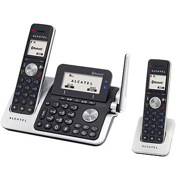 Alcatel XP2050 + X50 Téléphone DECT sans fil Bluetooth avec répondeur et combiné supplémentaire (version française)