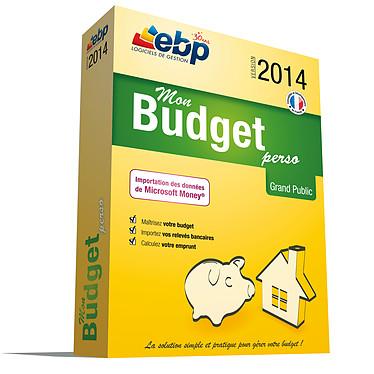 EBP Mon Budget Perso 2014 Logiciel de comptabilité personnelle (français, WINDOWS)
