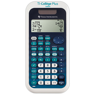 Texas Instruments TI Collège Plus Solaire
