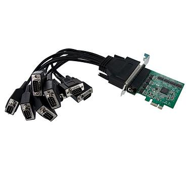 StarTech.com carte contrôleur PCI-E (8 ports DB-9)