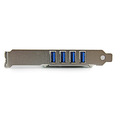 Acheter StarTech.com Carte contrôleur PCI-E LP (4 ports USB 3.0)