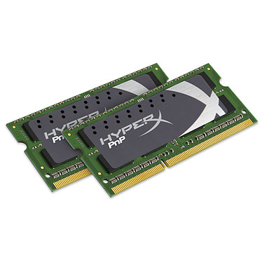 Kingston HyperX PnP SO-DIMM 8 Go (2 x 4 Go) DDR3 2133 MHz CL12 Kit Dual Channel RAM SO-DIMM DDR3 PC3-17066 - KHX21S12P1K2/8 (garantie à vie par Kingston)
