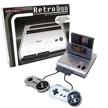 Retro Duo Silver NES & SNES