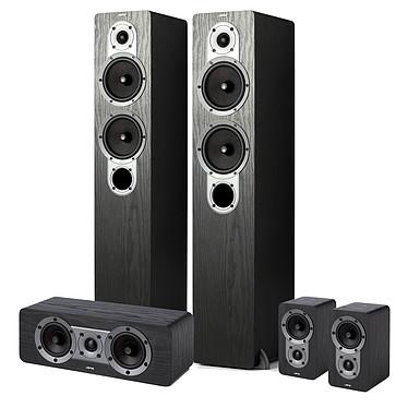 Jamo S 426 HCS 3 Black Pack d'enceintes 5.0