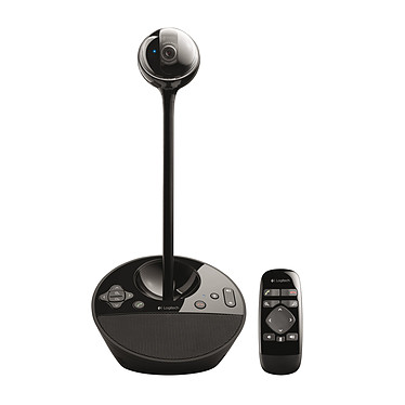 Logitech BCC950 ConferenceCam Caméra de visioconférence - Full HD 1080p - angle de vue 78° - zoom 1.2x - microphone omnidirectionnel - 4 personnes max - télécommande - certifiée Skype for Business
