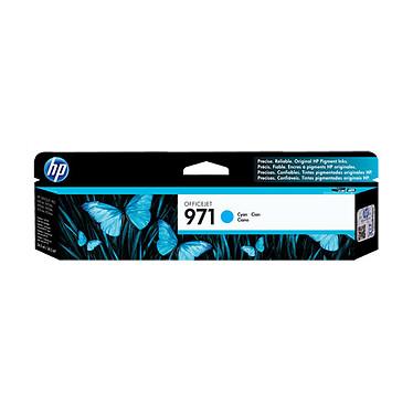 HP Officejet 971 - Cyan Cartouche d'encre cyan compatible Officejet Pro X451DW et X576DW