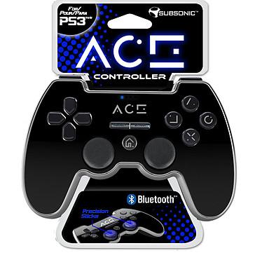 Subsonic ACE Controller Noir (PS3) Manette sans fil rechargeable pour PS3