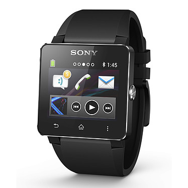 Sony SmartWatch 2 Silicone Noire