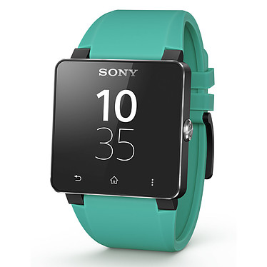 Sony Bracelet pour SmartWatch 2 Silicone Turquoise