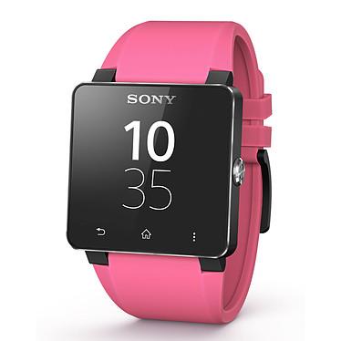 Sony Bracelet pour SmartWatch 2 Silicone Rose