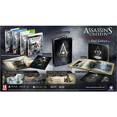 Assassin's Creed IV : Black Flag Edition Skull (PC)