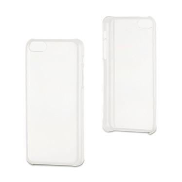 xqisit Coque iPlate Glossy iPhone 5C Transparente