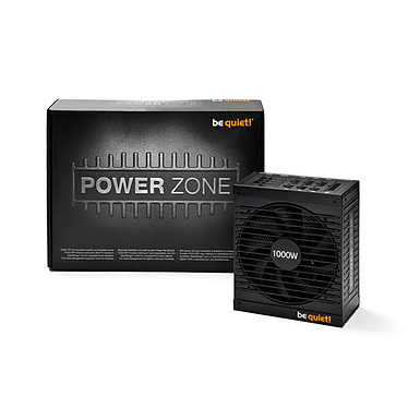 be quiet! Power Zone 1000W 80PLUS Bronze Alimentation modulaire 1000W ATX 12V 2.4 / EPS 12V 2.92 - 80PLUS Bronze
