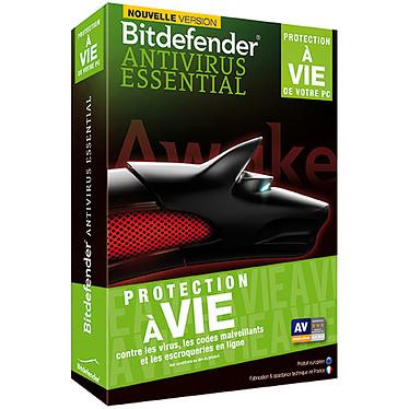 Bitdefender Antivirus Essential 2014 - Protection à vie - 1 Licence  Antivirus protection à vie - 1 Licence (français, WINDOWS)