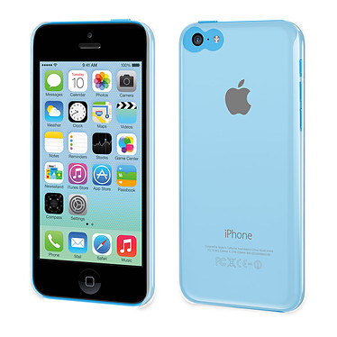 Muvit Coque Clearback pour iPhone 5C