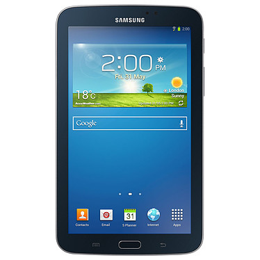"Samsung Galaxy Tab 3 7"" SM-T2100 8 Go Noir Tablette Internet - Dual-Core 1.2 GHz 1 Go 8 Go 7"" tactile Wi-Fi/Bluetooth/Webcam Android 4.2"