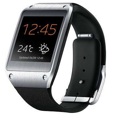 Samsung Galaxy Gear Smart Freedom Noir Montre connectée Android Bluetooth avec écran tactile Super AMOLED