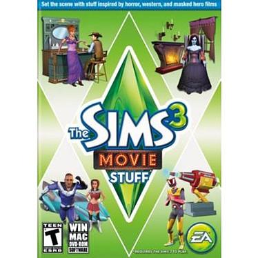 Les Sims 3 : Cinéma - Kit d'objets (PC)