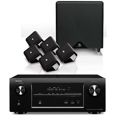 Denon AVR-X2000 Noir + Boston SoundWareXS 5.1 Noir