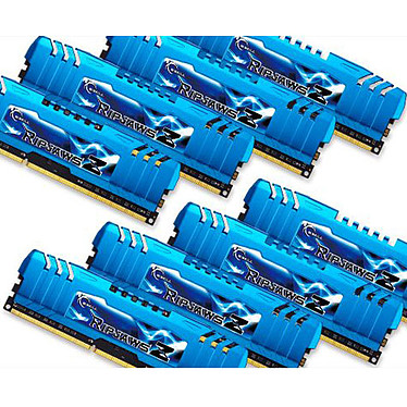 G.Skill RipJaws Z Series 64 Go (8 x 8 Go) DDR3 2133 MHz CL10