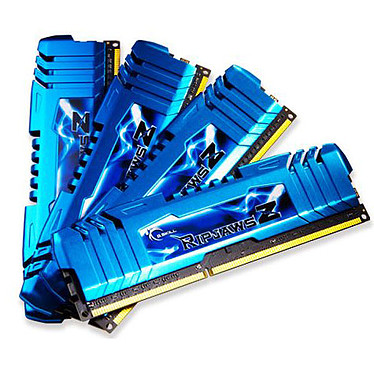 G.Skill RipJaws Z Series 32 Go (4 x 8 Go) DDR3 2400 MHz CL11