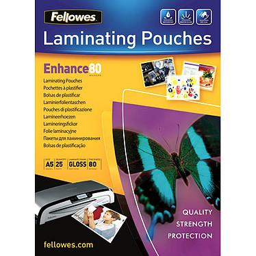 Fellowes Pochettes brillantes A5 80µ x 25