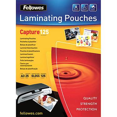 Fellowes Pochettes brillantes A3 125µ x 25
