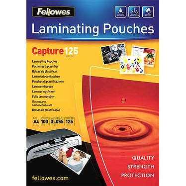 Fellowes Pochettes brillantes A4 125µ x 100