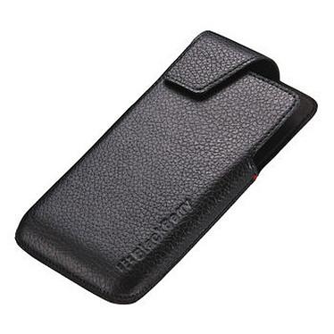 Acheter BlackBerry Leather Swivel Holster Noir pour BlackBerry Z30