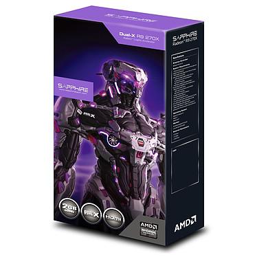 Sapphire Radeon R9 270X Dual-X 2G GDDR5 OC pas cher