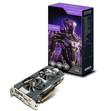 Acheter Sapphire Radeon R9 270X Dual-X 2G GDDR5 OC